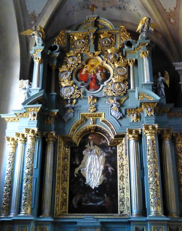 Вознесение Девы Марии. Картина в алтаре