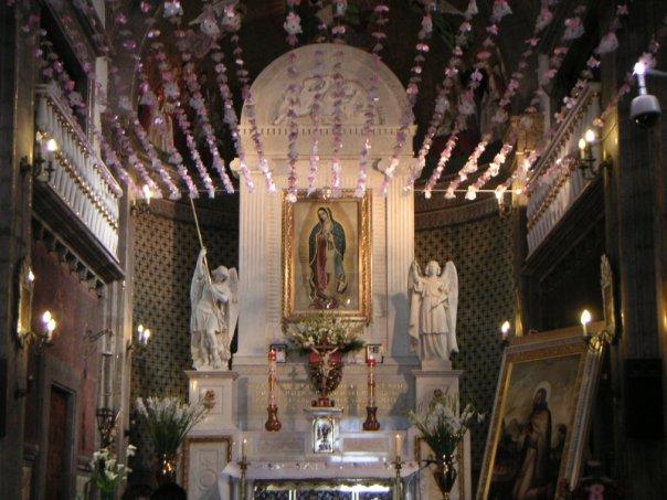 Образ Девы Марии Гваделупской в базилике