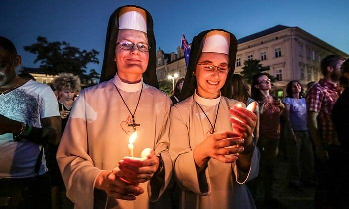 Всемирный день молодежи в Кракове, Польша. Фотография: Беата Заврзельм