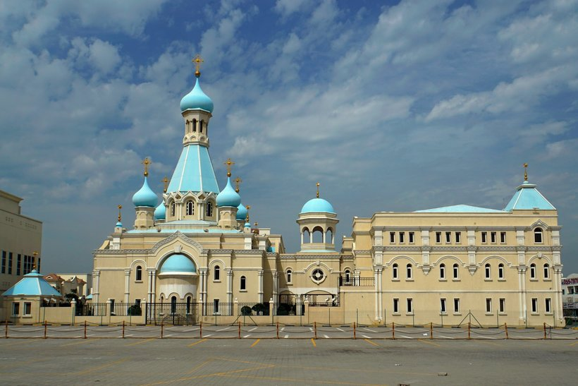 The Russian Orthodox Church in the Emirates has reopened its doors for  believers