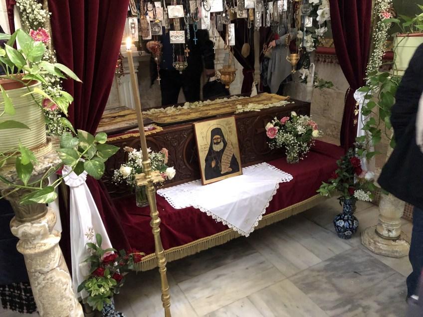 Мощи священномученика Филумена Святогробца