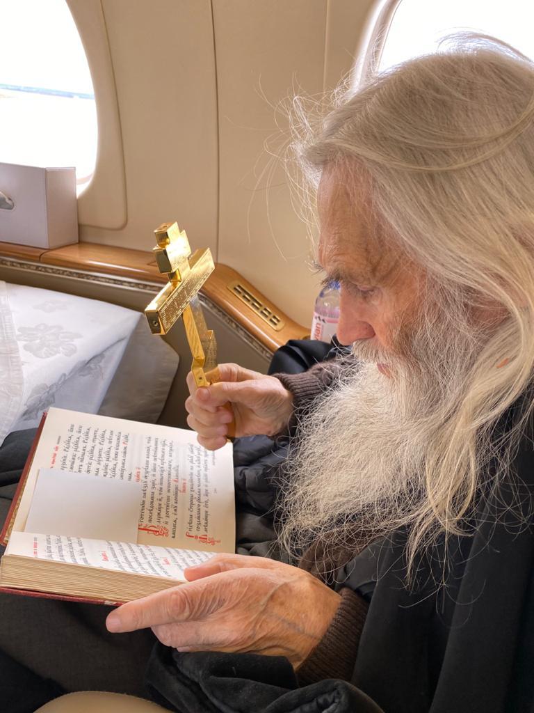 Духовник патриарха Кирилла и братии Оптиной пустыни схиархимандрит Илий