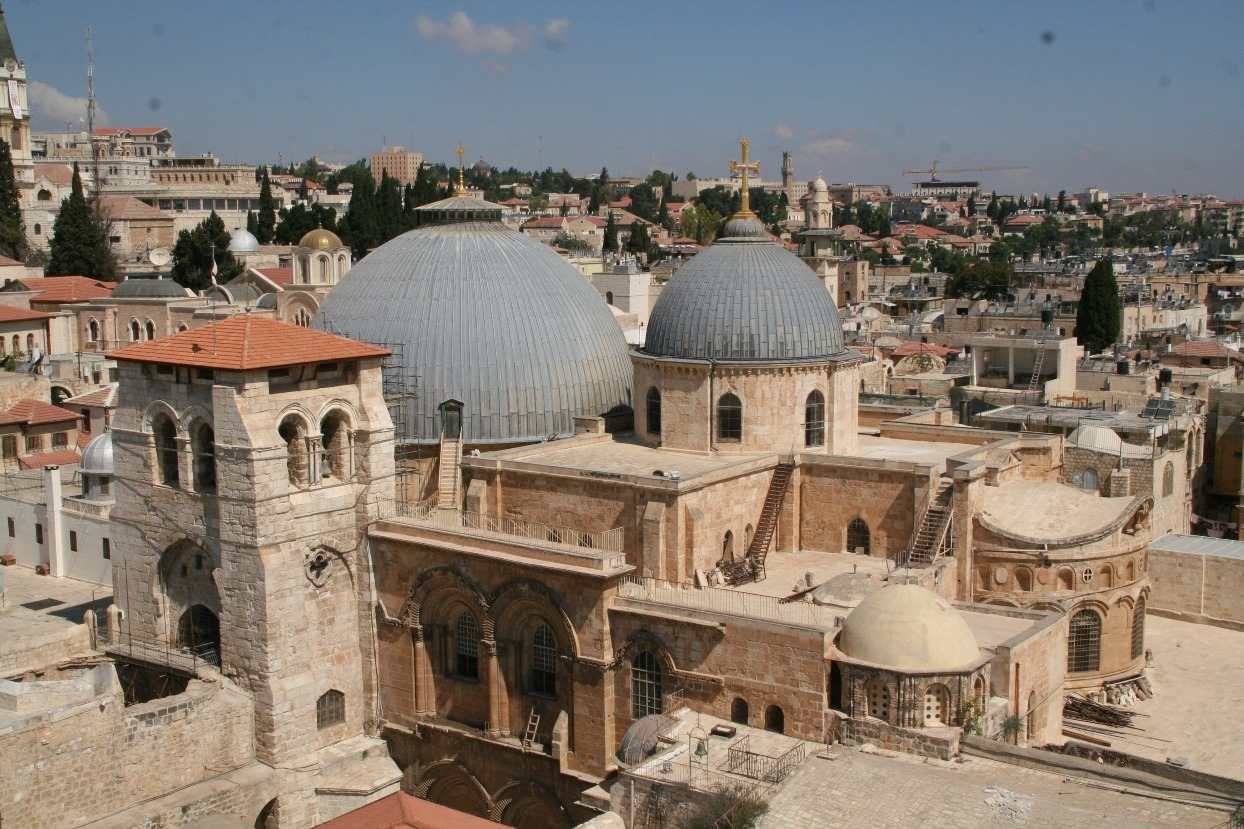 Иерусалим. Храм Гроба Господня.