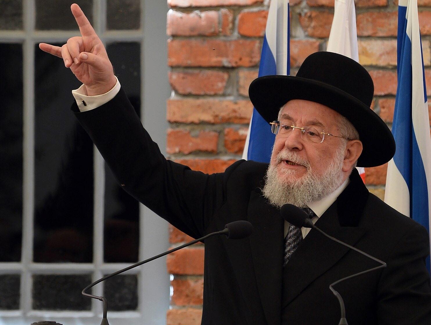 Бывший духовный лидер израильской ортодоксальной политической партии «Яхад» Меир Мазуз